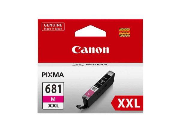 Genuine Canon CLI681XXLM Extra High Yield Magenta Ink