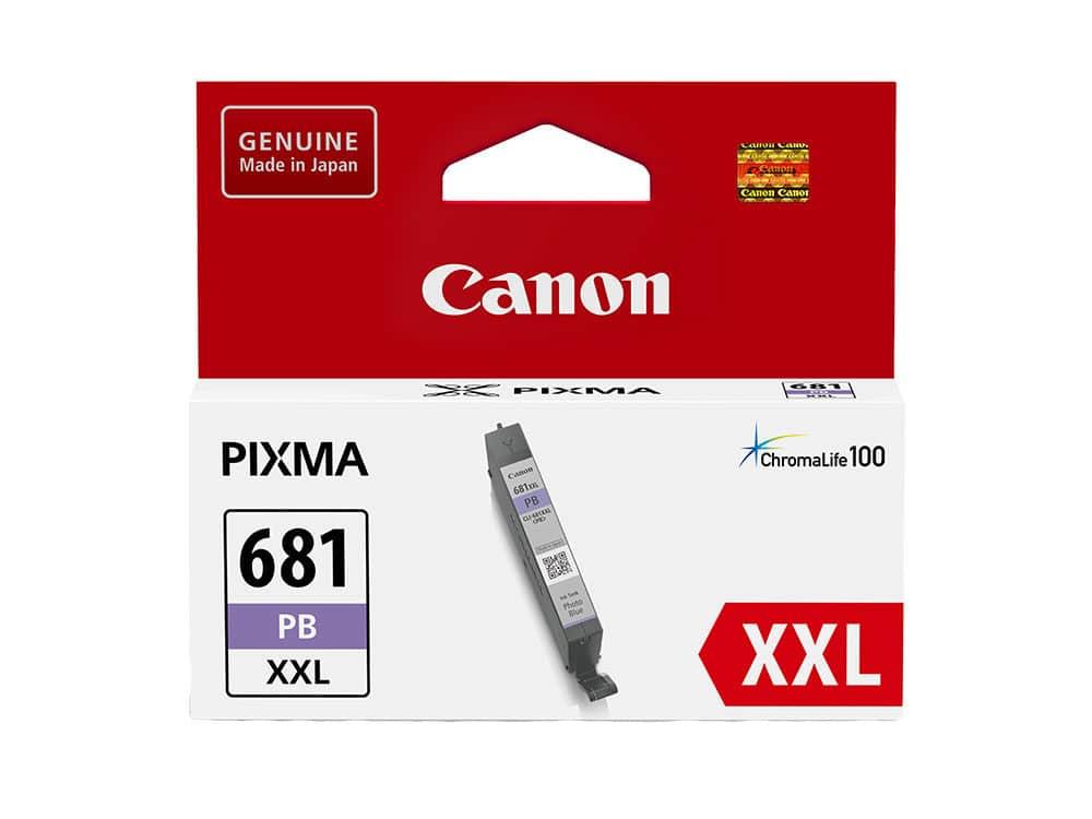 Genuine Canon CLI681XXLPB Extra High Yield Photo Blue Ink Tank