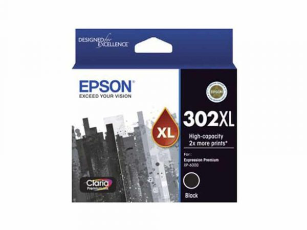 Genuine Epson 302 XL  Photo Black