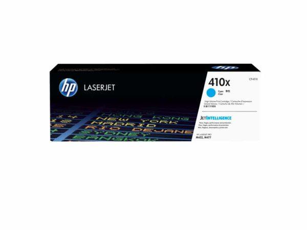 Genuine HP 410X High Yield Cyan Toner (CF411X)