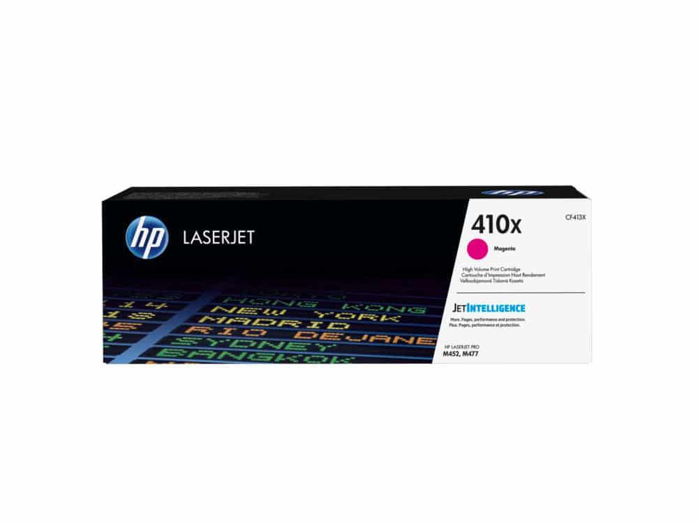Genuine HP 410X High Yield Magenta Toner (CF413X)