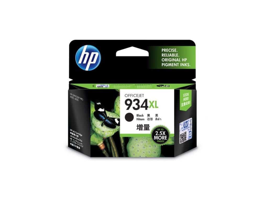 Genuine HP 934XL Black Hi Capacity Ink Cartridge