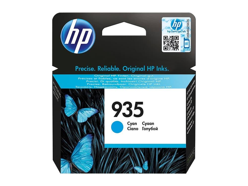 Genuine HP 935 Cyan Ink Cartridge