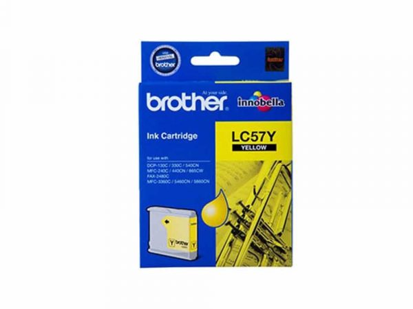 Genuine Brother  LC57 Yellow