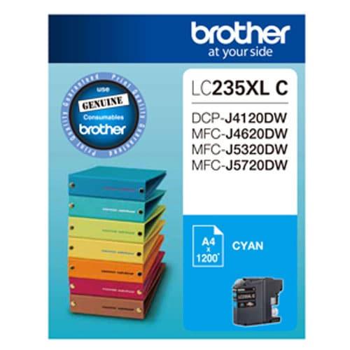 Genuine Brother LC235XL Cyan Ink Cartridge