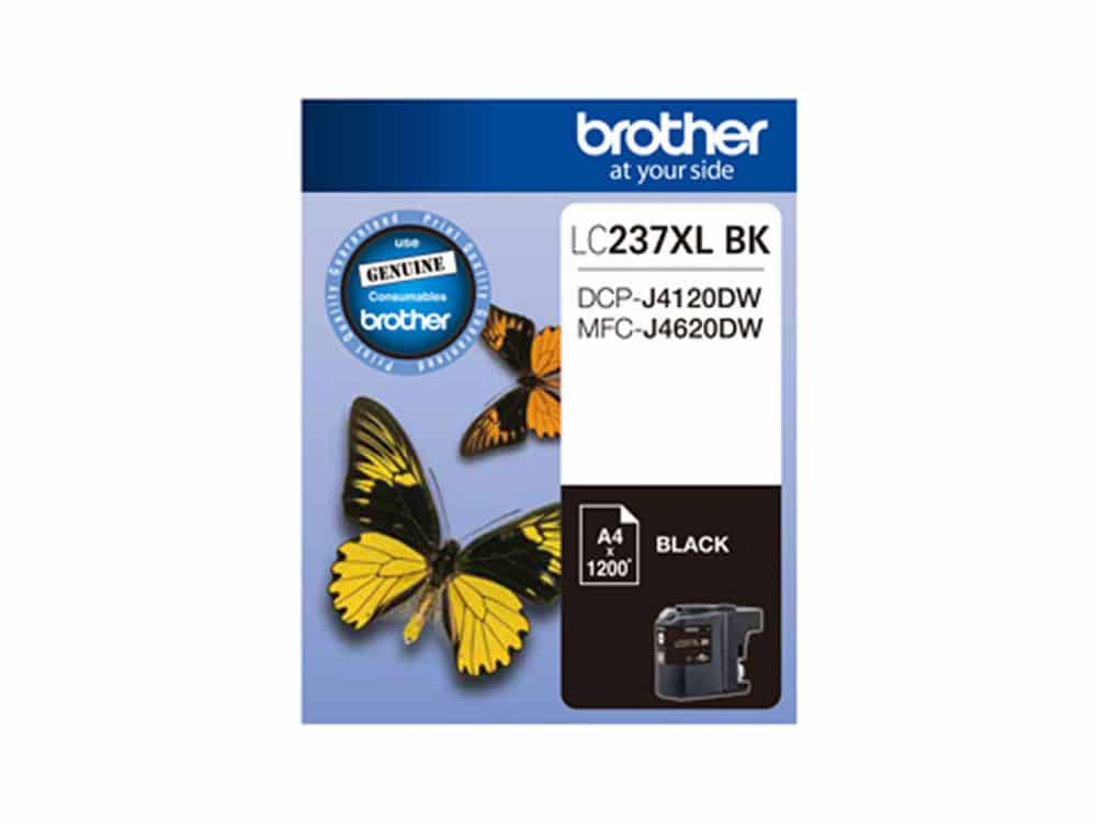 Genuine Brother LC237XL Black Ink