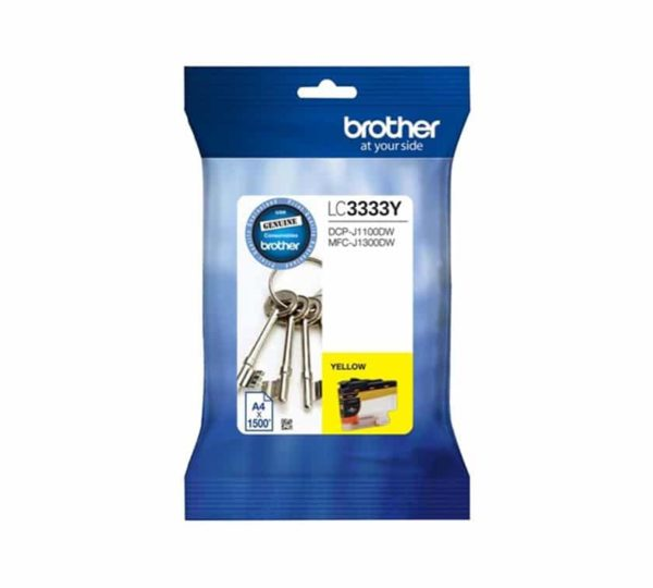 Genuine Brother Ink LC3333 Yellow
