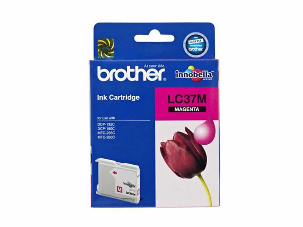 Genuine Brother LC37 Magenta Ink