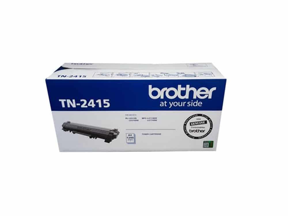 Genuine Brother TN2415 Black Toner