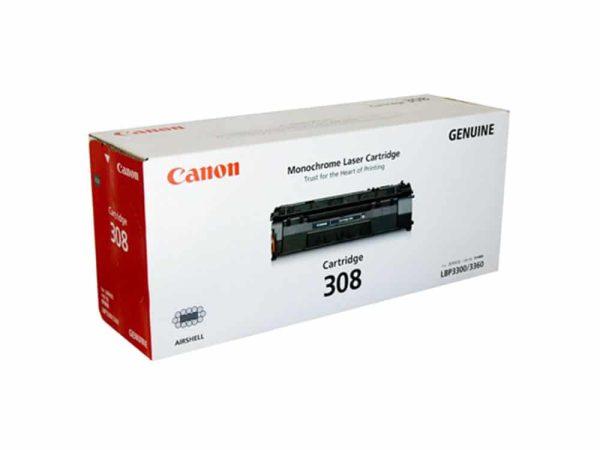 Genuine Canon CART308 Black Toner