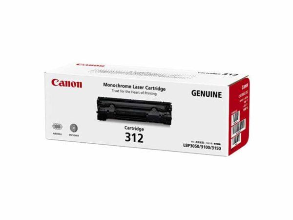 Genuine Canon CART312 Black Toner