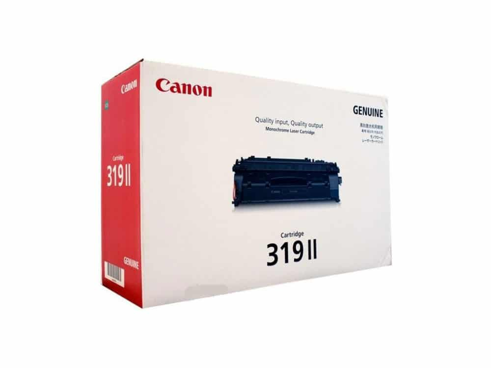 Genuine Canon CART319II Black Toner