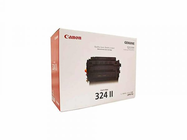 Genuine Canon CART324II Black Toner (High Yield)