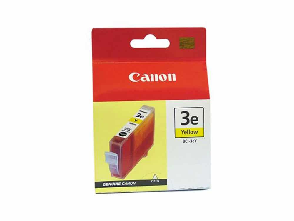 Genuine Canon Ink BCI3E Yellow