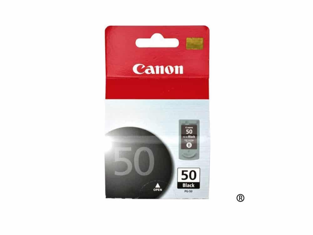 Genuine Canon PG50 Black Ink