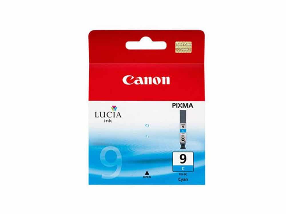 Genuine Canon PGI9 Cyan Ink
