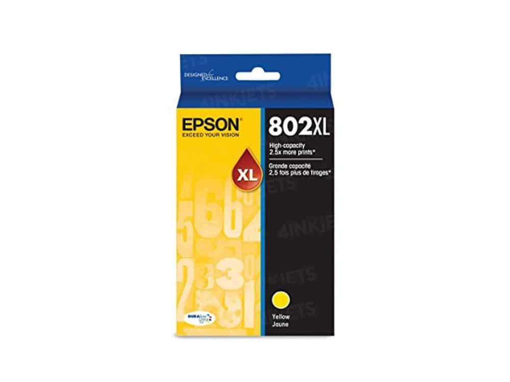 Genuine Epson 802XL yellow Ink