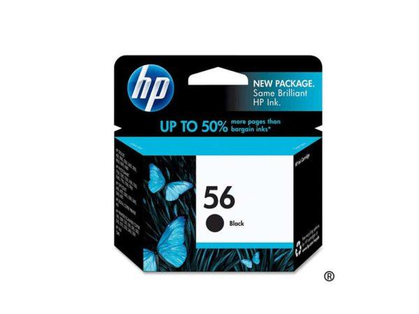 Genuine HP 56 Black Ink
