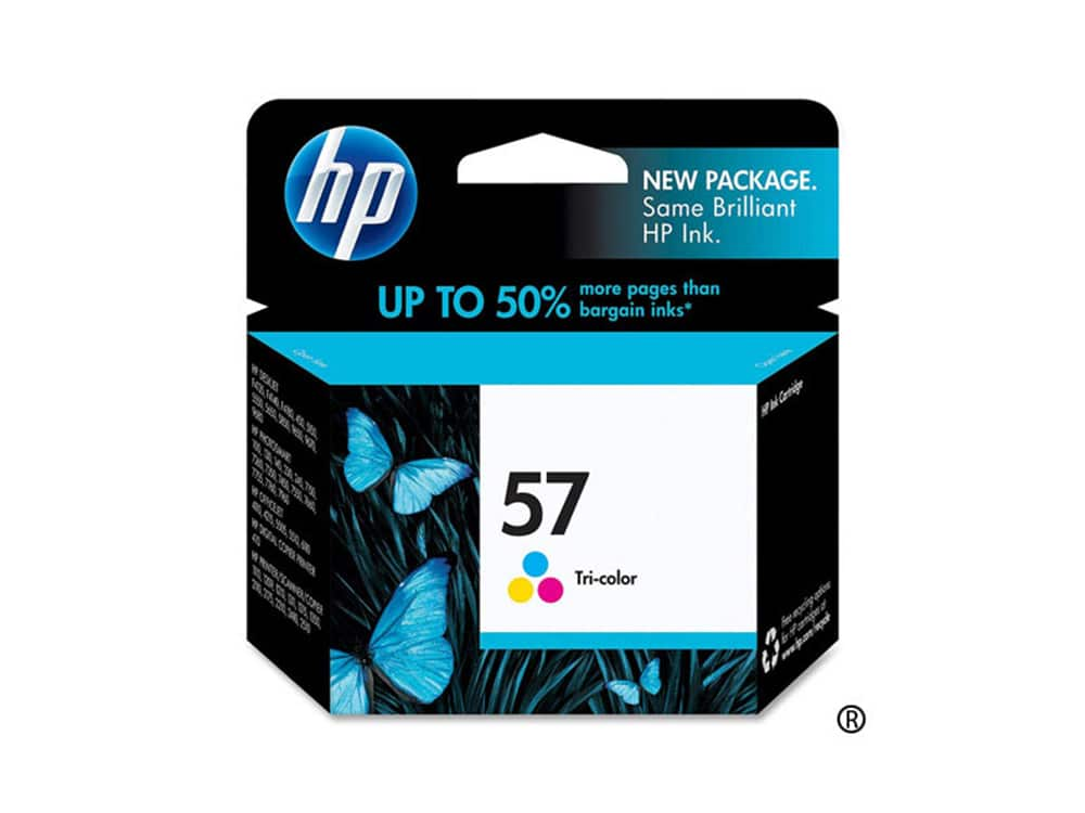 Genuine HP 57 Colour Ink
