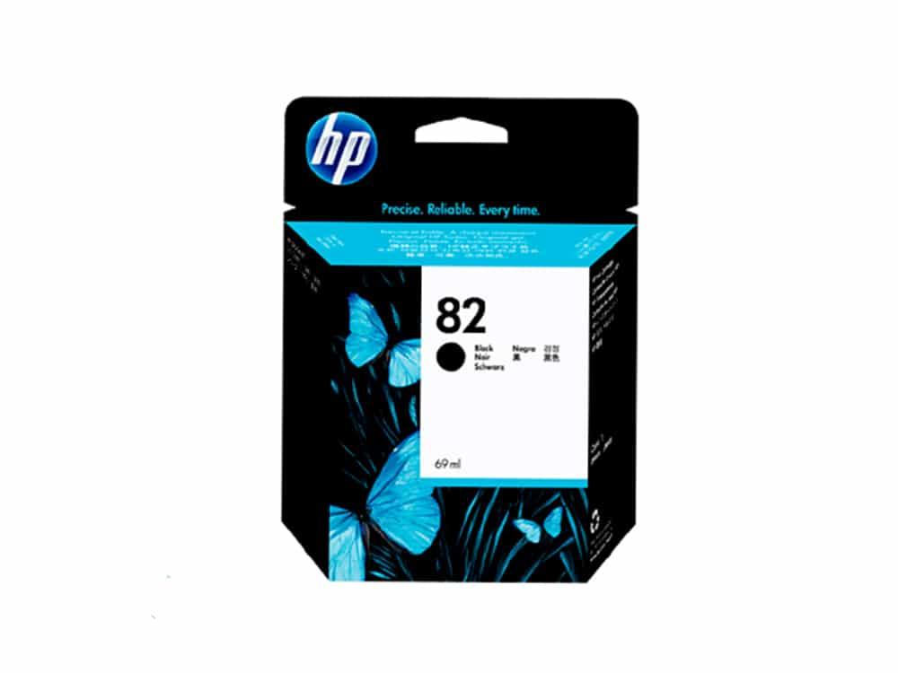 Genuine HP 82 Black Ink Cartridge - CH565A
