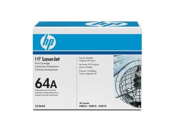 Genuine HP CC364A Black Toner