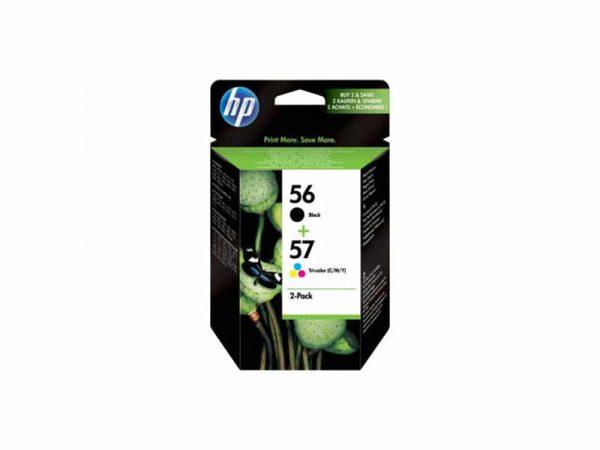 Genuine HP Ink 56 & 57 2pk