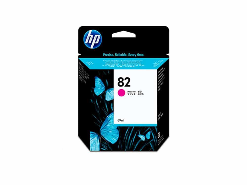 Genuine HP No.82 Ink Cartridge - Magenta- C4912A
