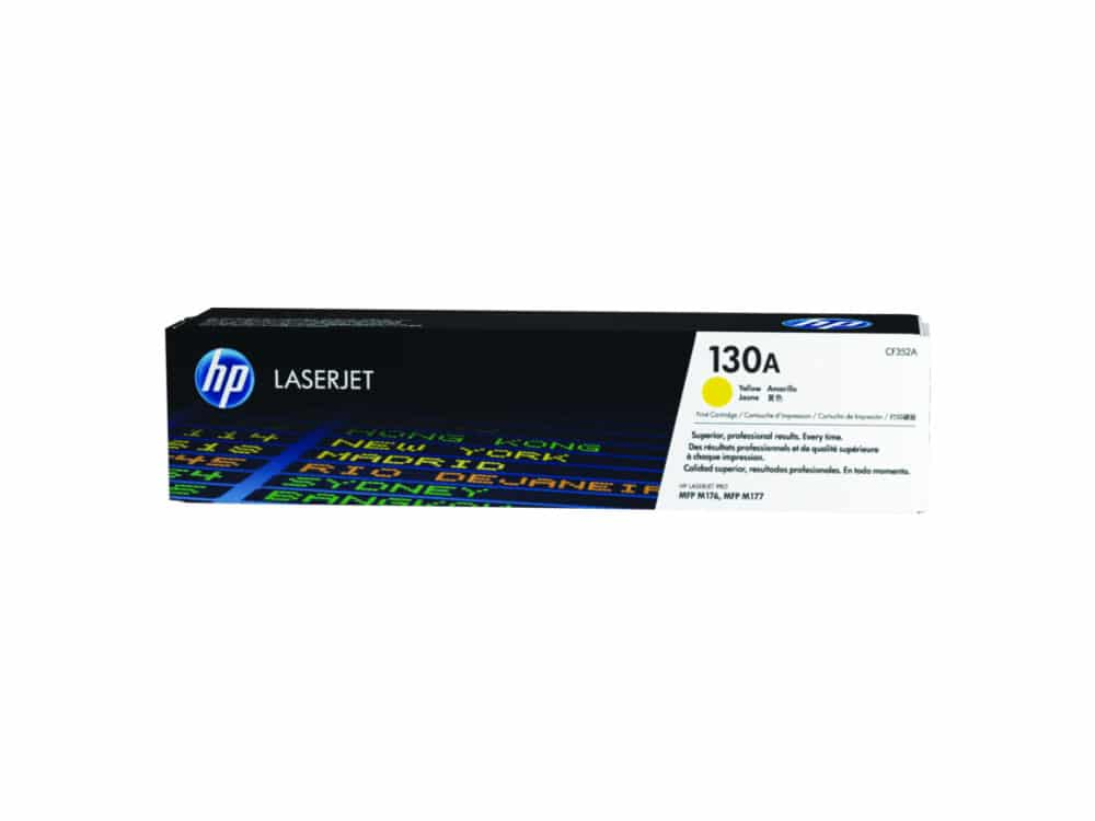 HP Toner 130A CF352A Yellow(1000 pages)