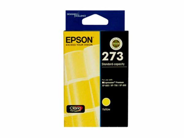 Genuine Epson 273 Yellow