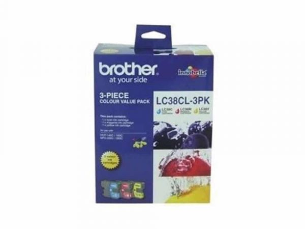 Genuine Brother LC38 Colour Pack