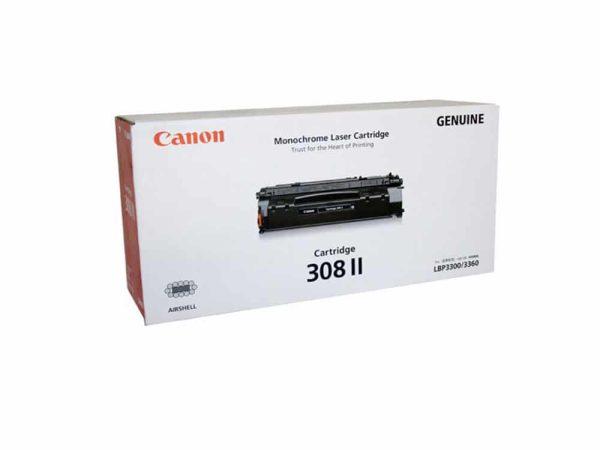 Genuine Canon CART308II Black Toner