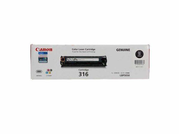Genuine  Canon CART316 Black Toner