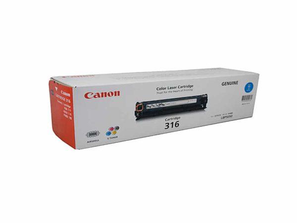 Genuine Canon CART316 Cyan Toner