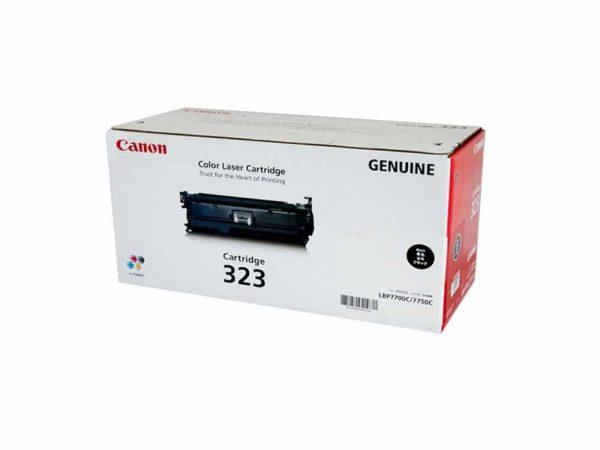 Genuine Canon CART323 Black Toner