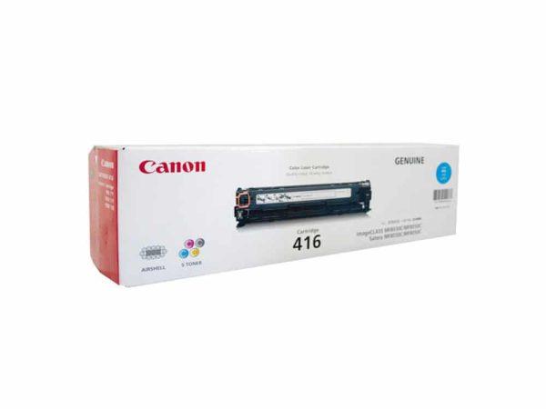 Genuine Canon CART416 Cyan Toner