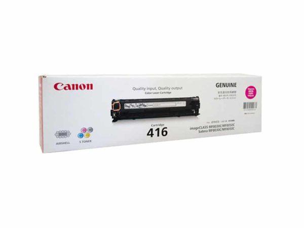 Genuine Canon CART416 Magenta Toner