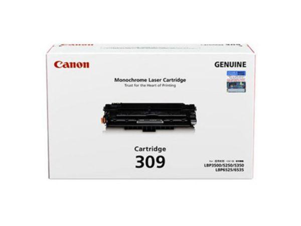 Genuine Canon Cart 309 Black Toner