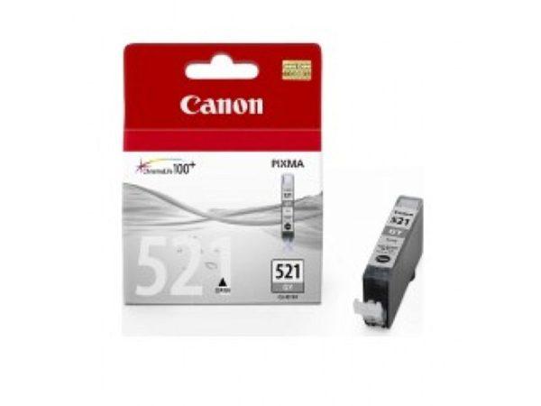Genuine Canon Ink CLI521 Grey
