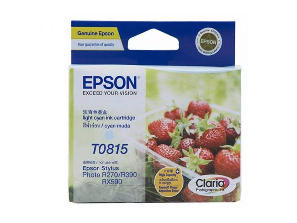 Genuine Epson 81N Light Cyan XL