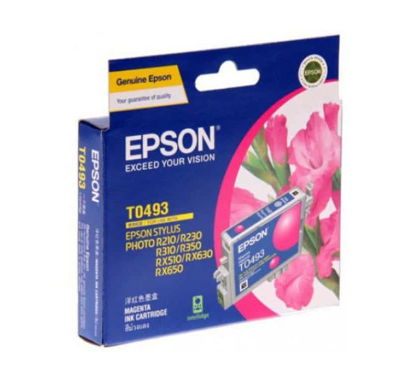 Genuine Epson  T0493 Magenta