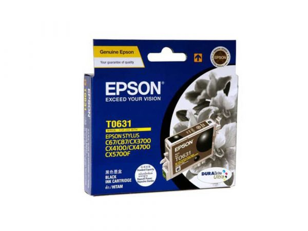 Genuine Epson T0631 Black