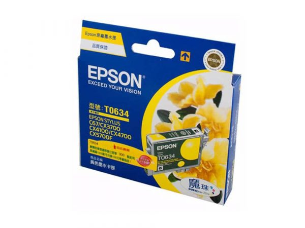 Genuine Epson T0634 Yellow