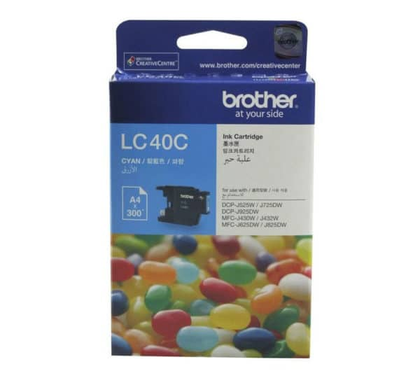 Genuine Brother LC40 Cyan