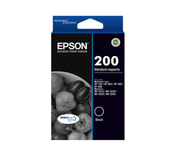 Genuine  Epson 200 Black Ink
