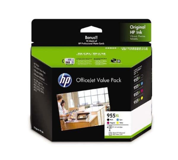 Genuine HP 955 XL Ink Value Pack