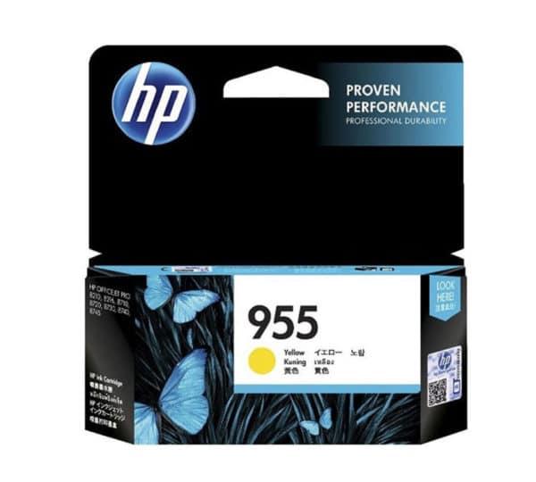 Genuine HP 955 Ink Yellow