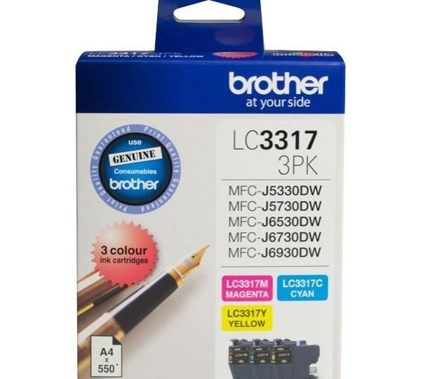 Genuine Brother LC3317 Colour Pack