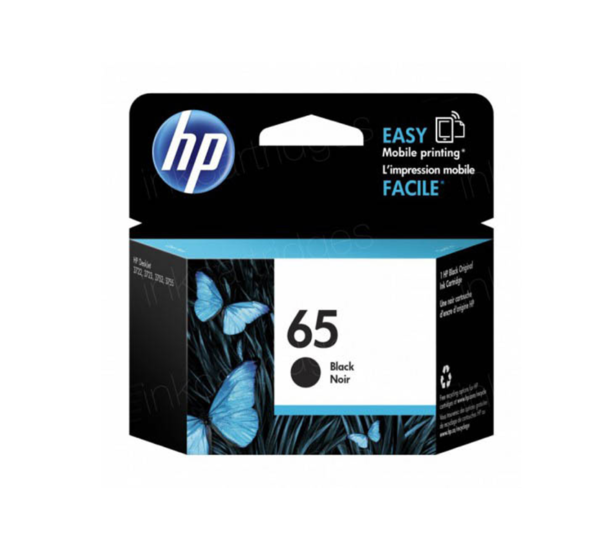 Genuine HP 65 Black