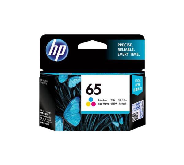 Genuine HP 65 Tri Colour