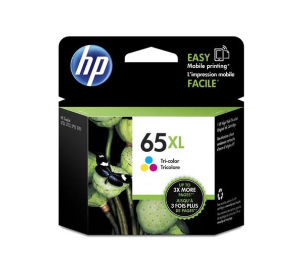 Genuine HP 65 XL Tri-Colour